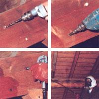 Traitement des charpentes traitement bois et charpentes for Traitement des charpentes par injection