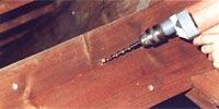 Injection traitement bois et charpentes cap habitat for Traitement des poutres en bois par injection